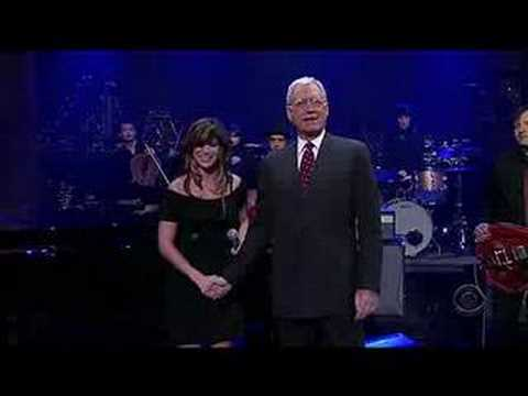 The Way It Is (Late Show live) - Nicole Atkins & The Sea