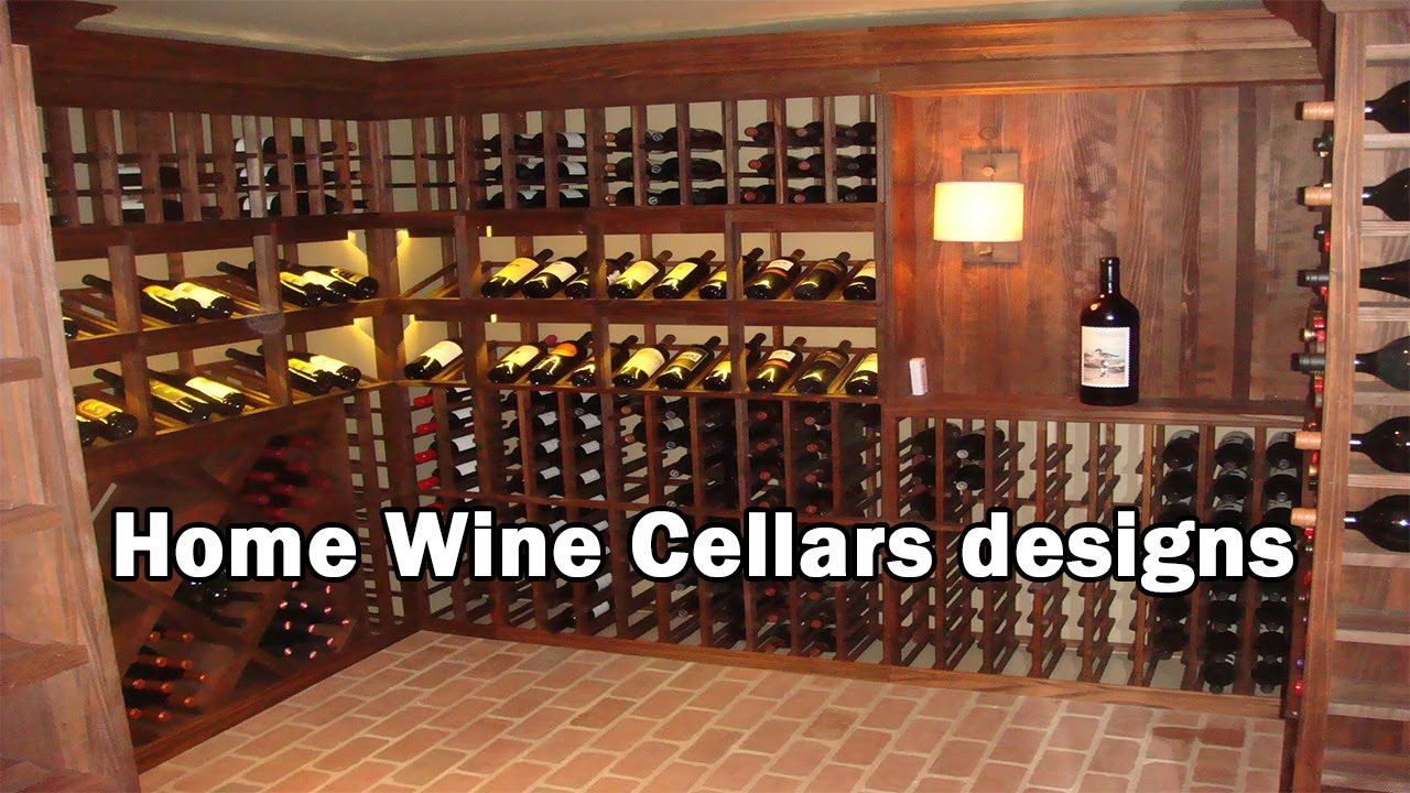 Home Wine Cellars Designs | Modern Wine Cellar  Wine Home Storage Designs  And Models   YouTube