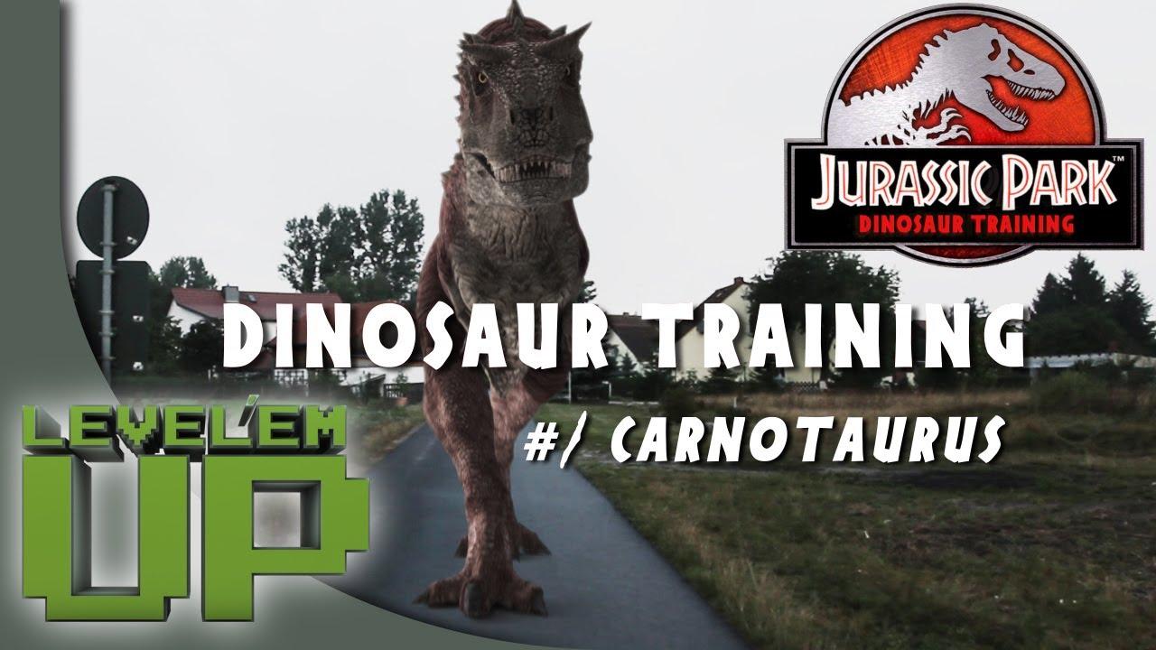 """Jurassic Park 4 """"Dinosaur training"""" #1 Carnotaurus - YouTube"""