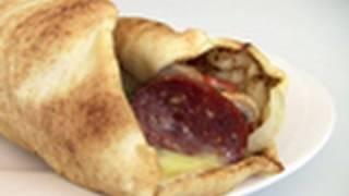 Pizza Pita Wrap Video Recipe