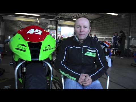 Ian Lougher and ILR Kawasaki talk 2013 with R&G