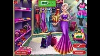 Мультик игра Холодное сердце: Реальные покупки Эльзы (Elsa Realife Shopping)