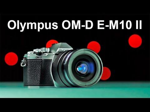Olympus E-M10 II - Беззеркалка для начинающих с матричным стабом