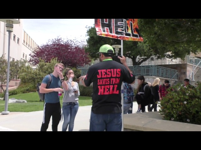 Christian Preacher is an anomaly to Lust driven college Students