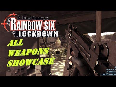 Tom Clancy's Rainbow Six: Lockdown all weapons showcase |