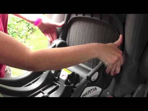 20 Second Car Seat Install With Baby Trend Inertia