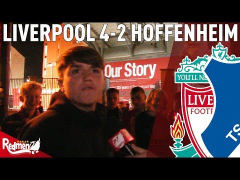 'I Do Absolutes, Mane Is The Best In The World,' | Liverpool V Hoffenheim 4-2