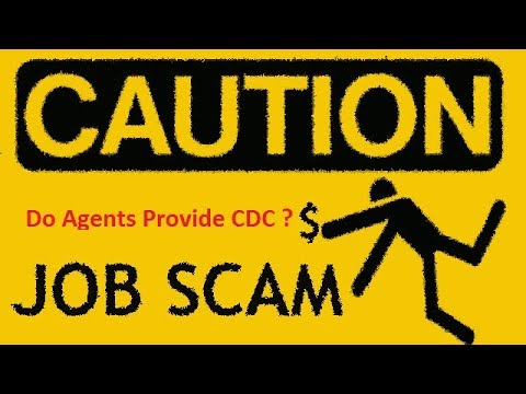 Do agents provide cdc or not ?