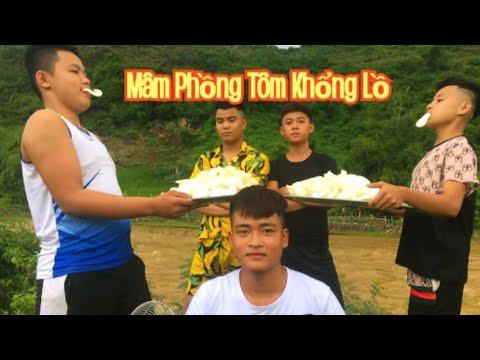 Teamvlogs    Chiên Thử 1000 chiếc Bánh Phồng Tôm Cực Giòn và ngon