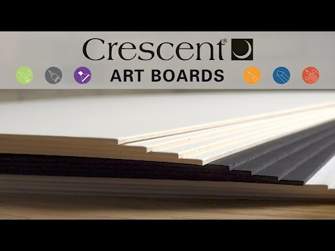 Crescent Art Boards