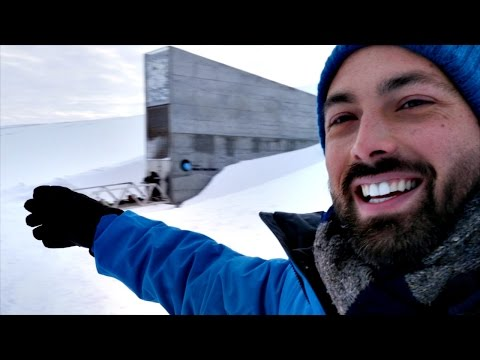 Thumbnail: Inside the Svalbard Seed Vault