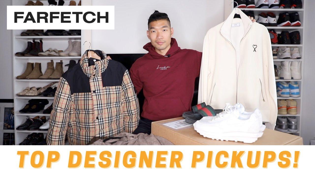 Top Designer Pickups for Men from FARFETCH!   Men's Fashion Haul
