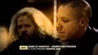 Sons of Anarchy – Kemény motorosok, 5. évad az AMC-n!