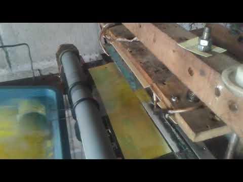mesin potong plastik rol + sablon,bisa di pesan,081357469573