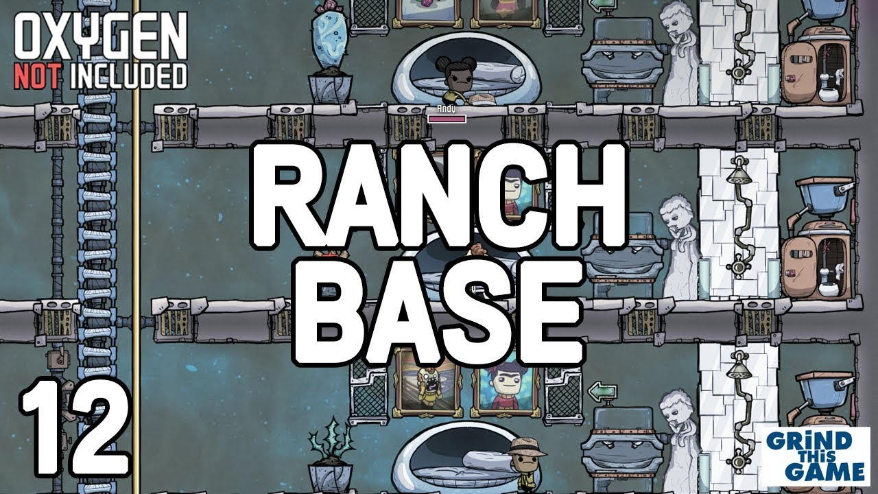 PRIVATE BEDROOMS FOR ALL #12 - New Ranching Upgrade Base - Oxygen Not  Included