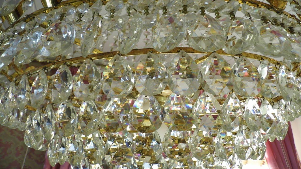Kristall Kronleuchter Putzen ~ Kristall lampen auf hochglanz polieren lilo siegel youtube