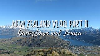 New Zealand Pt 2 ~ Queenstown & Timaru // DARE TO HOPE
