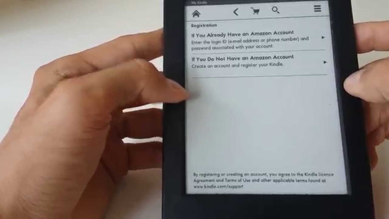 How To Deregister and Register Your Kindle Account
