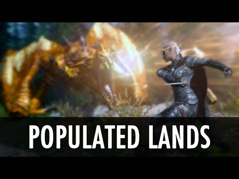 Skyrim Mod: Populated Lands, Roads, Paths