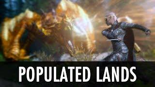 Skyrim Mod: Populated Lands, Roads, Paths