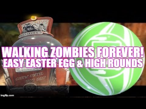 Permanent Walking Zombies Glitch - Easter Egg & High Rounds Made Easier!