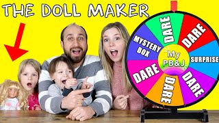 Come Play With Us! The Doll Maker Mystery Wheel Challenge! My PB and J