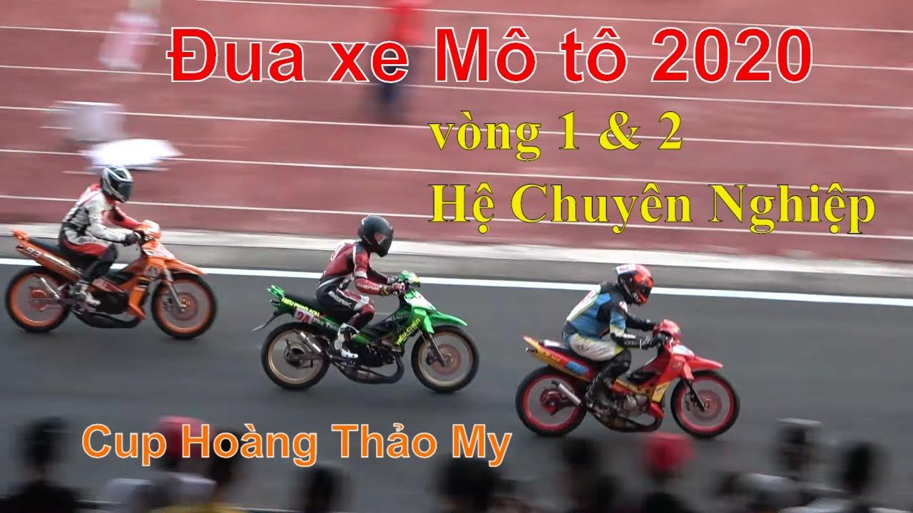 Đua xe Moto 2020 tại Cần Thơ Full vòng 1 & 2 hệ Chuyên nghiệp Yaz