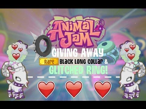Animal Jam Glitched Sapphire Ring