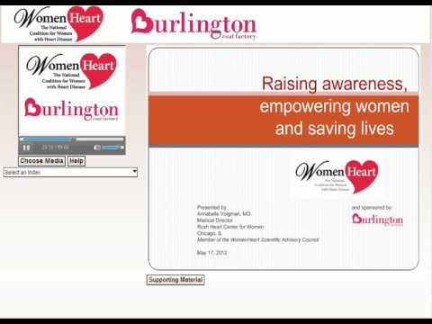 WEBINAR RECORDING: 1st Annual Empowering Women to Take Charge of their Heart Health