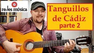 """Aprende melodía y acordes """"Tanguillos de Cádiz"""" 2 tablatura pdf gratis."""