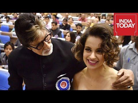 Amitabh Bachchan Receives His 4th National Film Award, Kangana Her 3rd