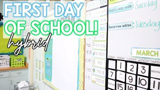 First Day of IN PERSON Teaching!! - Vlog