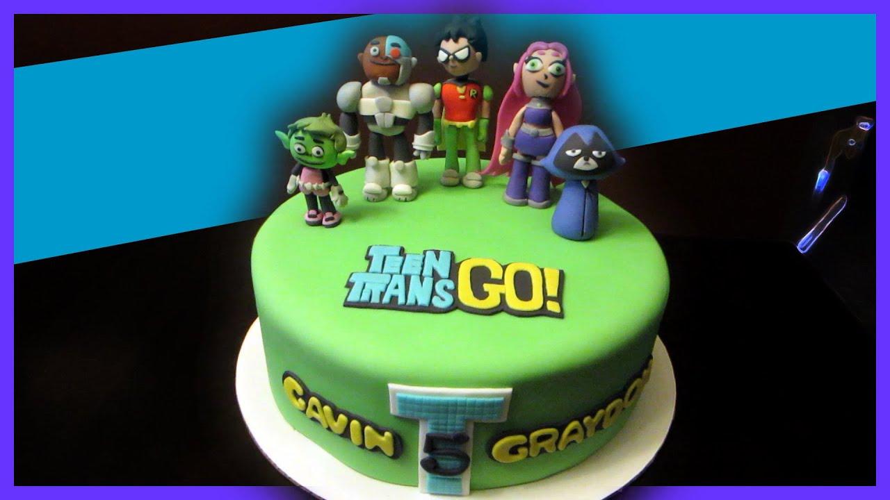 Starfire Birthday Cake