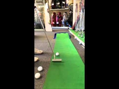 トゥルーロール クランク シルバー パター 01 ゴルフ説明動画