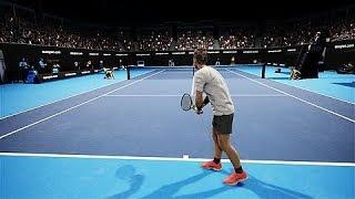AO Tennis PS4 Gameplay