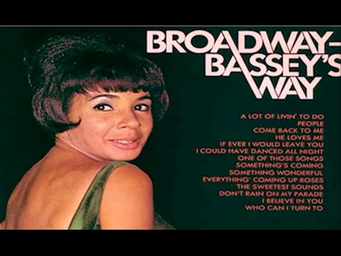 Shirley Bassey  TONIGHT 1962  Somethings Coming From West Side Story 1968