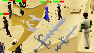 OSRS - What can ONE Godsword Get You At The Duel Arena! RuneScape Staking