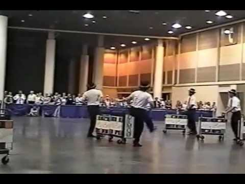 World Champion Tulane University Book Cart Drill Team ALA 2006