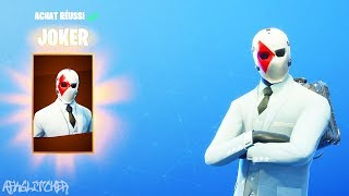 NEW WILD CARD SKIN (Nouveau Skin Joker) ! Fortnite Battle Royale