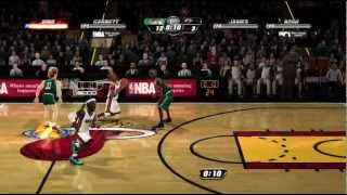 NBA Jam On Fire Edition Xbox 360 720P gameplay Larry Legend (Larry Bird) vs. LeBron James