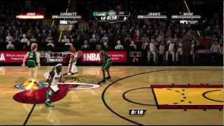 NBA Jam On Fire Edition Xbox 360 720P gameplay Larry Legend (Larry Bird) vs. LeBron James