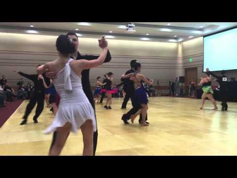 Silver Int'l Latin Samba Seungri & Katie, Kraft & Nicole