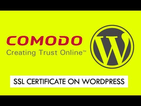 how to get ssl certificate wordpress