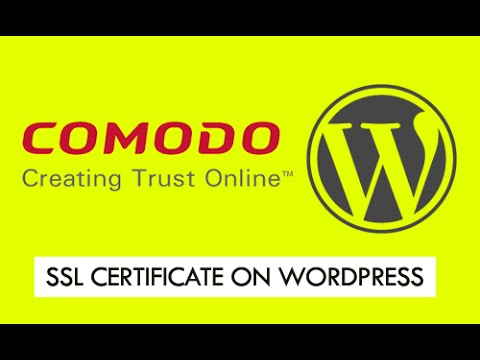 Install SSL Certificate on WordPress - YouTube