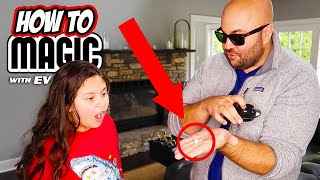 How To Do 5 EASY Magic Tricks!