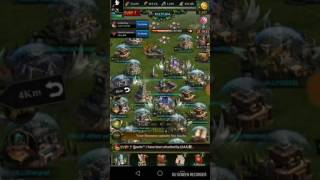 Clash of kings k520. Setting trap for AAA king. Twice in a row