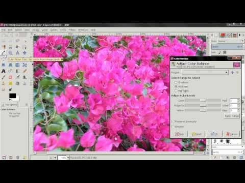 Color Balance - GIMP Beginners