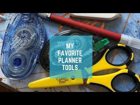 Planner 101 // My Favorite Planner Tools for Beginners