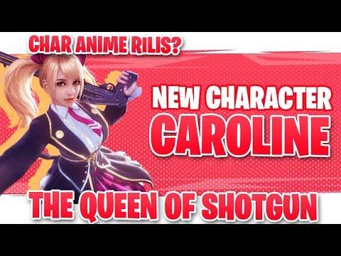 UPDATE CHAR ANIME! Bahas Karakter Caroline dan Skillnya - Garena Free Fire