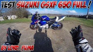 #Moto Vlog 74 : TEST SUZUKI GSXF 650 / UN BABY GEX !